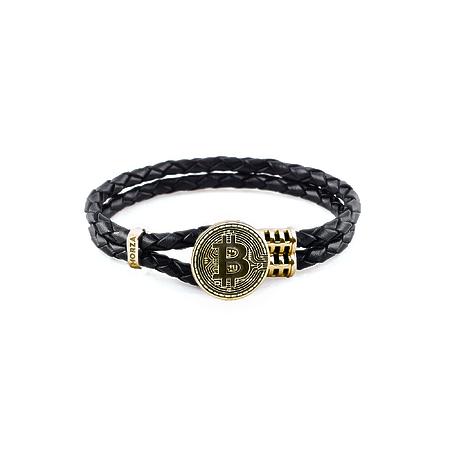 Bitcoin gold bracelet