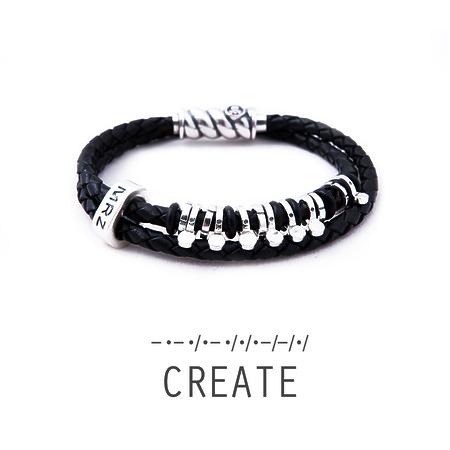 "Silver bracelet Magellan ""Create"""