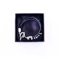 Silver Bracelet Jaws