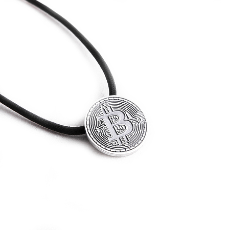 Bitcoin necklace