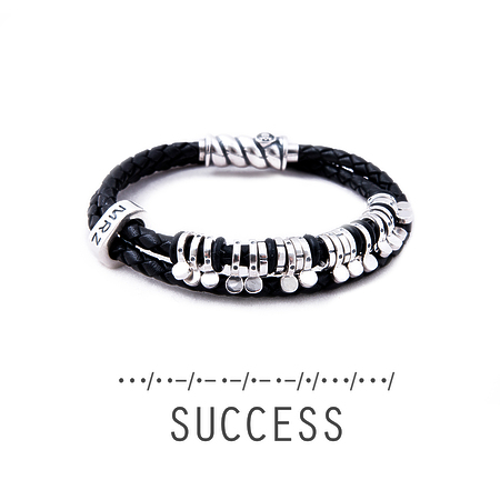 "Silver bracelet Magellan ""Success"""